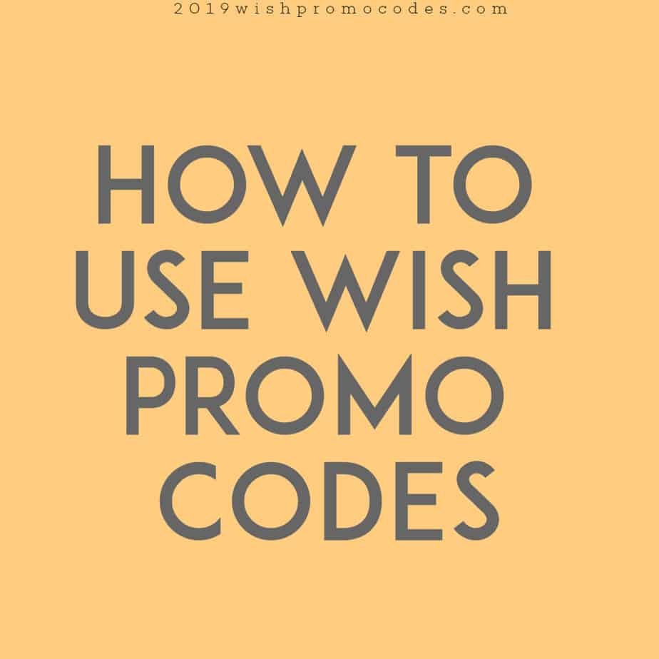 Wish Promo Codes: August 2019 → 100% FREE SHIPPING